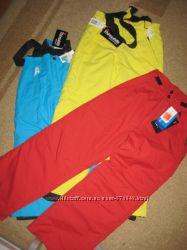 Лыжные штаны, полу-комбинезон р. 140