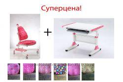 Мебель для школьника, комплект парта и стул К1К-639