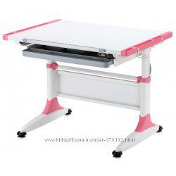 Парта-трансформер KidsMaster K1-Durer Desk с ящиком для канцелярии Pink