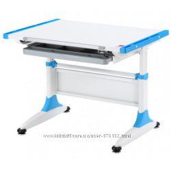Парта-трансформер KidsMaster K1-Durer Desk с ящиком для канцелярии Blue