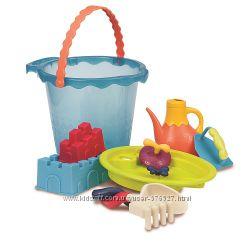 Набор для игры с песком и водой - Мега ведерце море 9 предметов