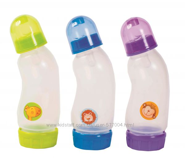 Бутылочки для кормления пластиквые