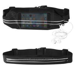 Сумка на пояс для телефона ключей для бега со светоотражающей полосой