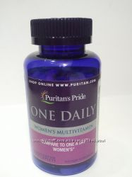 Женские витамины Puritan&acutes Pride Womens One Daily Multivitamins USA 100 таб
