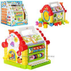 9196  Теремок - сортер 9196 Limo Toy игра