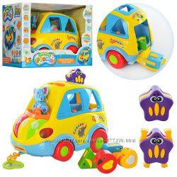 Машинка - сортер Автошка  Joy Toy 9198