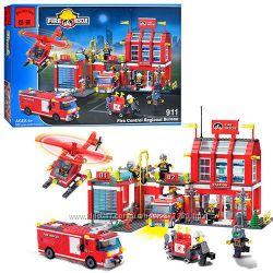 Конструктор 911 Brick, Пожарные спасатели, Брик