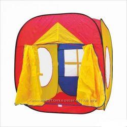 Детская игровая Палатка шатер 3516,  0507 домик