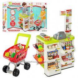 Детский Магазин 668-01, 668-03 супермаркет касса тележка продукты