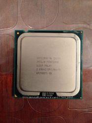 Процессор Intel Core 2 duo E6300 2. 80Hz  Кулер Intel D34223-002