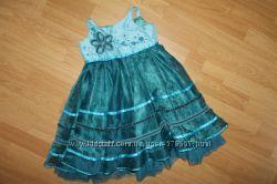 Нарядное платье Marks&Spencer 2-3г, 98см