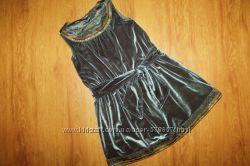 Нарядное платье Marks&Spencer 2-4г, 98-104см