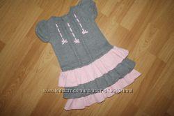 Gymboree теплое платье 2-3г, 92-98см