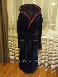 мужские махровые халаты, 100 коттон, отличное качество разные размеры