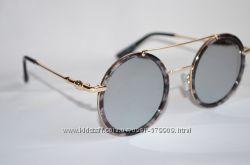 Стильные круглые очки Louis Vuitton c738