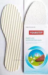 Махровые комфортные стельки от немецкого брендаYourstep