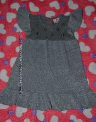 Вязаное платье фирмы  GLORIA JEANS на девочку 2 г 92 см