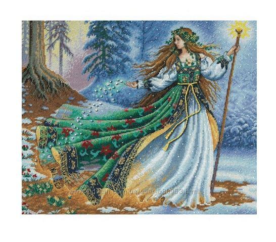 Набор для вышивки Dimensions Woodland Enchantress