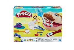 Набор пластилина Play-Doh Doctor Drill &acuteN Fill Мистер зубастик обновле