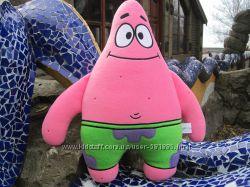 Мягкая игрушка - подушка Патрик Стар Губка Боб ручной работы