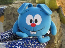 Мягкая игрушка - подушка Смешарики кролик Крош ручная работа