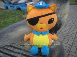 Мягкая игрушка Кот Квази из Октонавты Octonauts ручной работы