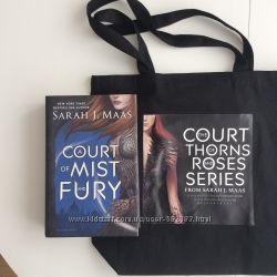 Бестселлер A Court of Mist and Fury и сумка в подарок. Новая, оригинал.