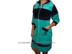 Велюровые халаты женские 44-54