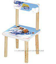 Детский деревянный стульчик  Белка и Стрелка