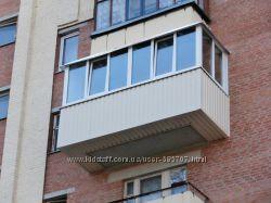 Ремонт и утепление лоджии, ремонт и Утепление Балкона, Обшивка, Одесса