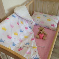 Детская постель, постельное белье в кроватку хлопок европейского качества