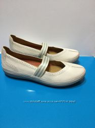 Clarks кожаные балетки туфли размер 37