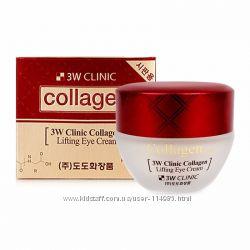 Крем-лифтинг с коллагеном для кожи вокруг глаз 3W Clinic Collagen Lifting E