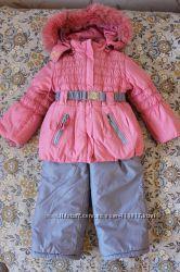 Очень тёплый зимний костюм Kikq  размер 98