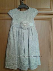 Нарядное очень красивое платье от Mothercare, р. 4-5