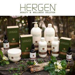 Восстановление и питание осветленных волос BES Hergen Gold Line