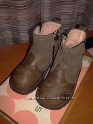 Стильные кожанные ботинки в ретро-стиле Andanines Испания 23 размер
