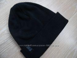 новая шапка 5-12 л детская мальчику черная NEXT