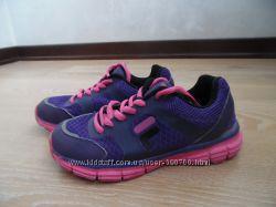 кросовки детские 21 см девочке фиолетовые розовые как новые FILA