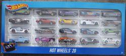 Набор машинок Hot wheels 20 шт
