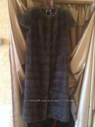 Эксклюзивная норкавая шуба трансформер