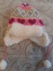 Модная шапочка-ушанка