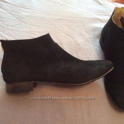 Ботинки Varese, оригинал, кожа, Италия, новые, мягчайшая замша