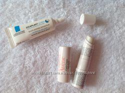 Стики для губ и крема для рук  Uriage, Bioderma,  Avene, La Roche-Posay