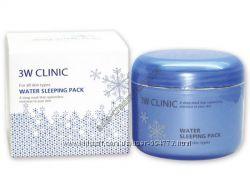 Ночная увлажняющая маска 3W CLINIC Water Sleeping Pack