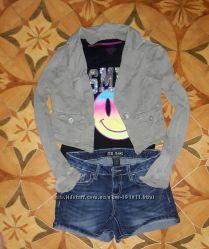 Короткая куртка-пиджак