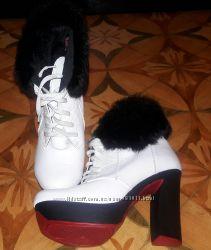 Зимние ботинки Violetti полностью натуральные