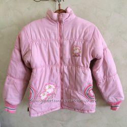 куртка на синтепоне, цвет розовый