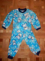 теплая пижамка 92-98 по старым ценам