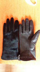 перчатки кожаные утепленные на руку 17, 5см